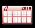 Taschenkalender 85 x 55mm,  4/4 farbig, 350g/qm BD matt